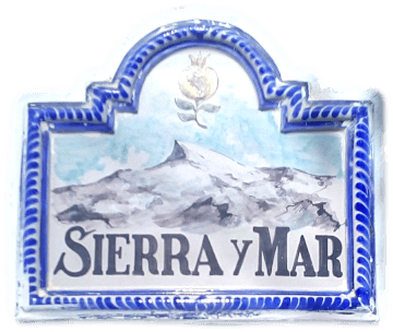 Logo tile with Sierra y Mar