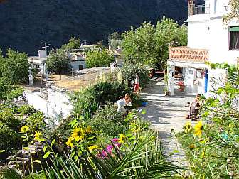 Photo of terrace of Casa Rural with breakfast
